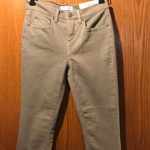Modern skinny crop jeans New with tags
